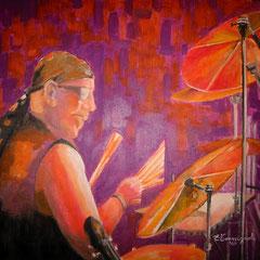 2009 - Nicola in jazz - olio su tela - 50 x 60 cm