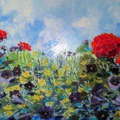 2011 - Respiro - olio a spatola su tela - 50x100 cm - collezione privata