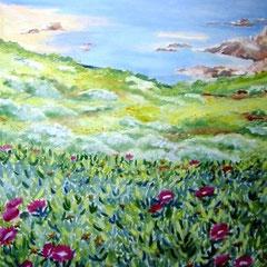 2010 - Buongiorno a Badesi - olio su tela - 70x50 cm - collezione privata