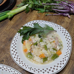 celery risotto/セロリのリゾット