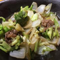 ブロッコリーのオイスター炒め / broccoli stir fry with oyster sauce
