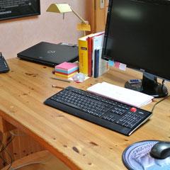 Ordnung schaffen - Schreibtisch
