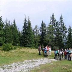 Wanderung mit dem OV Obdach am 23.09.2014 - Hohenwart, Grünhütte