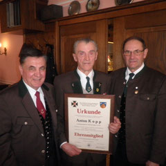 Anton Kopp wird Ehrenmitglied