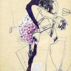 NOTAT IN BETWEEN 1990 29,7 x 21 cm