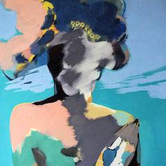 KLEINE WINDSBRAUT  2013  EITEMPERA 76,5 x 60 cm