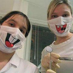 Profesionales de la atención dental infantil