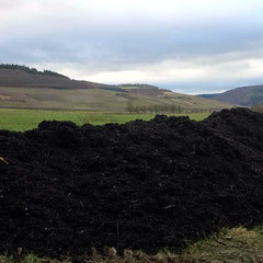 Anmischung des Substrats für die Bodenbearbeitung
