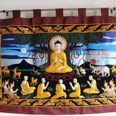 Bhanya Thai-Massage Fehmarn -Wandteppich-
