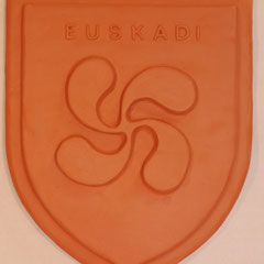 Blasons motif Croix Basque  modèle 2