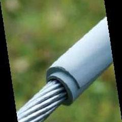 Cubierta enrrollable para cable desnudo media tension.