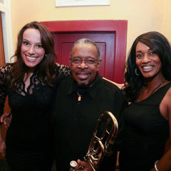 with Maureen Fernandes & mr. Fred Wesley!