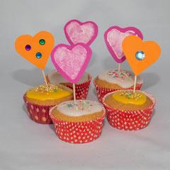 Zitronenmuffins - Rezepte für Kinderparty und Kindergeburtstag