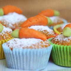 Saftige Möhrenmuffins - Rezepte für Kinderparty und Kindergeburtstag