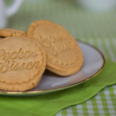 Gestempelte Kekse aus Mürbeteig