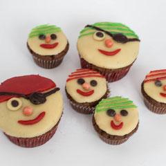 Piratenmuffins - Rezepte für Pratenparty und Kindergeburtstag