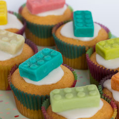 Legomuffin für Kindergeburtstag