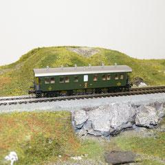 Liliput (334470) SBB-CFF Personenwagen Typ B2 offene Plattform