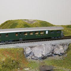 Railtop 31412 SBB Seetal ABF4 Nr. 4651 Leichtstahlwagen mit offener Plattform