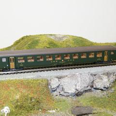 4238 Roco SBB Personenwagen EW II 2.Klasse mit mit alter Beschriftung