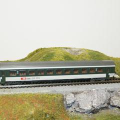 Märklin 4123 SBB IC EW IV, grün/grau