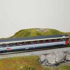 44771 Roco SBB Eurocity Personenwagen grau 1. Klasse