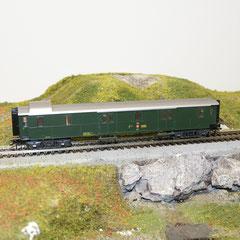 4239 Märklin Gepäckwagen F4ü 18811 SBB grün