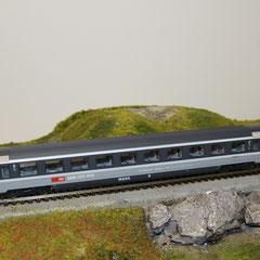 44770 Roco SBB Eurocity Personenwagen grau 2. Klasse