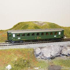 4138 Märklin C4 8901 SBB grün, 3. Klasse