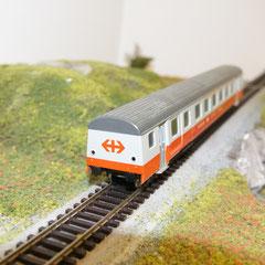 Liliput 887 50 Swissexpress Schlusswagen