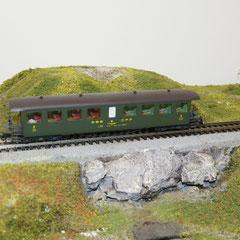 Roco 44731 SBB Seetal Bi 50 85 28-03 014-3 SBB grün 2.Klasse