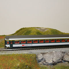 44201A Roco SBB Personenwagen EW IV 1. Klasse Masstab 1:93,5