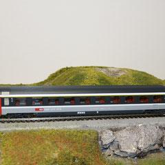 44771.1 Roco SBB Eurocity Personenwagen grau 1. Kl