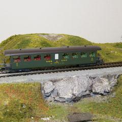 Roco 44731 SBB Seetal Bi 50 85 28-03 503-5 SBB grün 2. Klasse