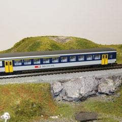 44338 Roco AKU SBB NPZ Personenwagen EW II +1./2. Klasse mit Aussenschwingtüren