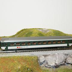Märklin 4124 SBB IC EW IV, grün/