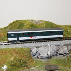 44334 Roco SBB Gepäckwagen EWII