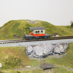 46908 Roco SBB Güterzugbegleitwagen 60 85 99-04 008-6 Db Swiss-Express-Bemalung