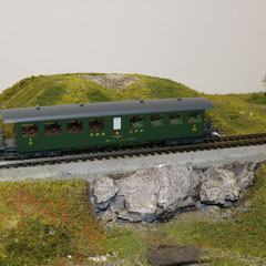 Roco 44731 SBB Seetal Bi 50 85 28-03 500-15 SBB grün 2. Klasse