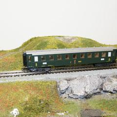 Märklin 4238 C4 8902 SBB grün, 3. Klasse