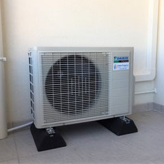 Pose de climatisation réversible Daikin à Allauch