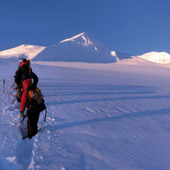 Mera Peak Trekking, Gipfelaufstieg