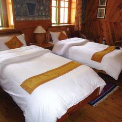 Doppelzimmer in der Komfort Lodge