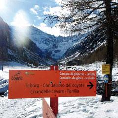 Steileisklettern im Aosta-Tal