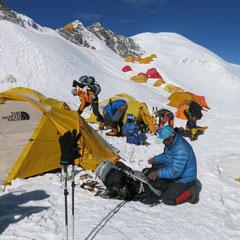 Lager I –6300 m