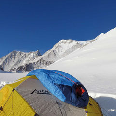 Low Camp am Mount Vinson