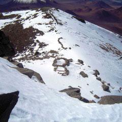 archäologische Stätte auf ca. 6700 m
