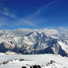 Skitour auf den Elbrus, Elbrus mit Ski besteigen, Elbrus als Skitour, Elbrus besteigen