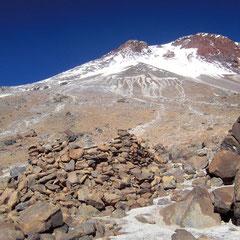 Fundstätte archäologisch auf ca. 5700 m
