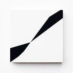 Colonnade #09,  Olieverf op berken multiplex 26x26x3,6 cm (2019)
